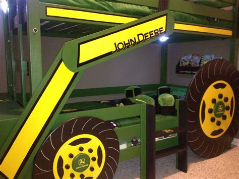 tractor bunk bed plans white deere tractor bunk bed diy projects