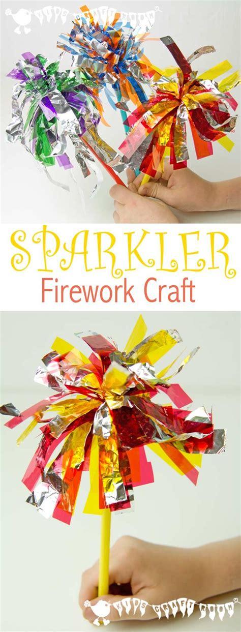 bonfire crafts for sparkler firework craft for sparklers fireworks
