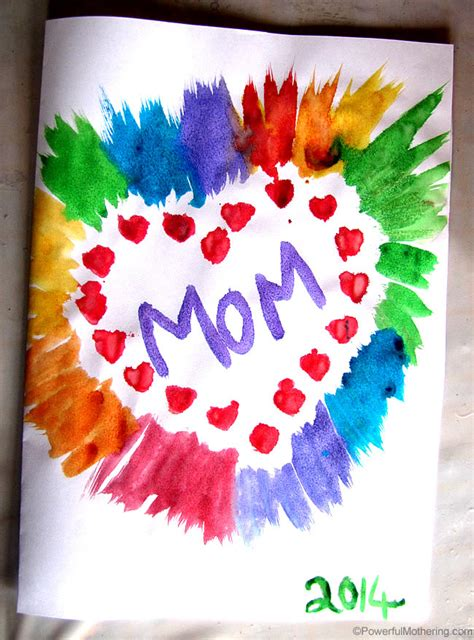 how to make simple mothers day cards simple s day card