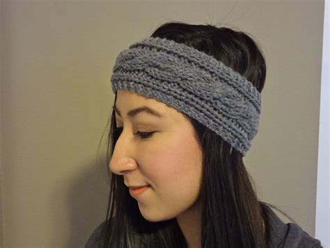 how to knit a headband cable knit headband pattern archives lil bit
