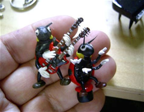 rubber sts for clay polymer clay bugs