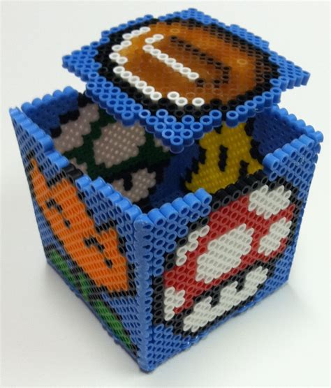 bead boxes mario box by thewiredslain on deviantart