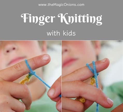 how do i finger knit finger knitting for an easy diy tutorial the