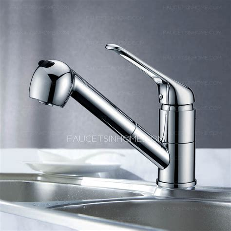 kitchen faucets with pull out spray professional brass lengthen single handle kitchen faucets