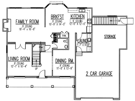 2700 square foot house plans traditional style house plan 4 beds 2 5 baths 2700 sq ft