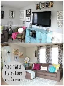 Mobile Home Decorating Ideas Single Wide mobile home living room reveal single wide cow and