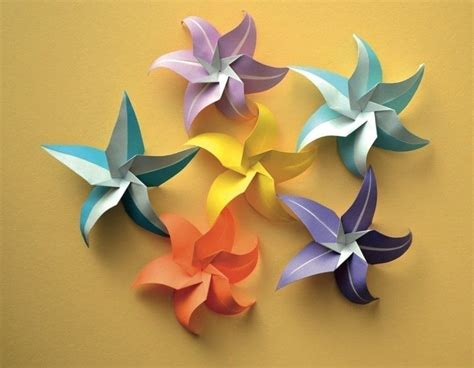 an origami flower flowers 183 extract from lafosse s origami