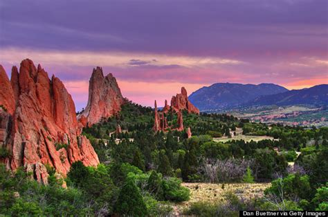 Garden Of The Gods Time Colorado Is The Most Magical State In America Huffpost