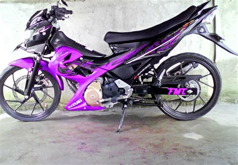 Modifikasi Motor Satria by Top 9 Foto Modifikasi Motor Suzuki Satria Fu 150