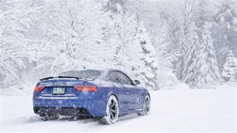 Car Wallpaper Snow car snow audi rs5 wallpapers hd desktop and mobile
