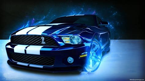 Neon Ford Mustang Wallpaper #21981 Wallpaper   High