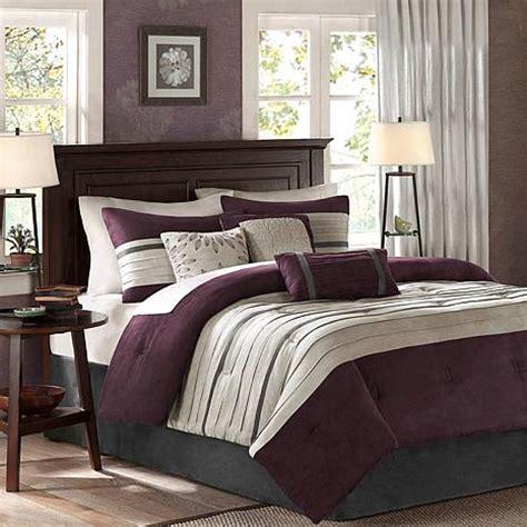 plum king comforter set park palmer comforter set california king plum