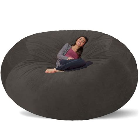 Big Bean Bag Chairs For by Lovely Big Bean Bag Chairs In Modern Home Decoration Idea