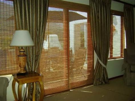 bamboo curtains for sliding glass doors bamboo curtain bamboo curtain for sliding glass door