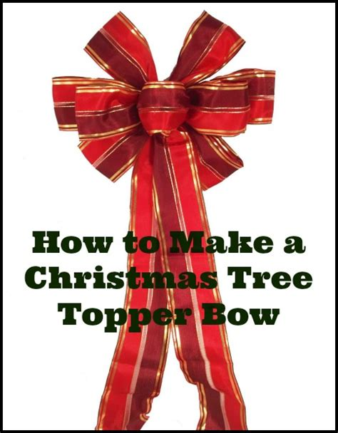bows for tree tree topper bows images