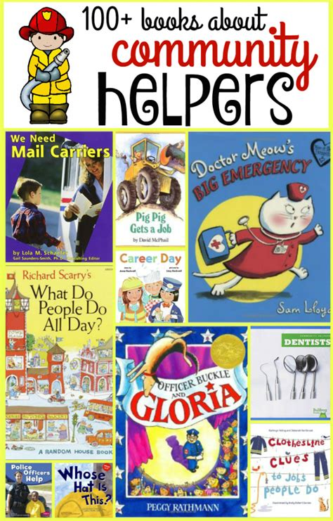 picture books about community helpers 100 community helper books the measured