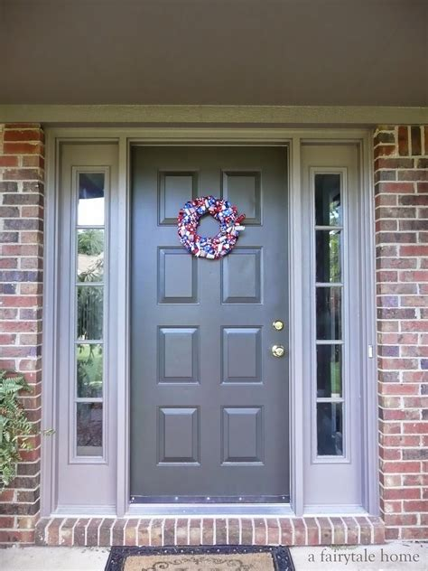 what color to paint front door of house what color to paint front door of brick house