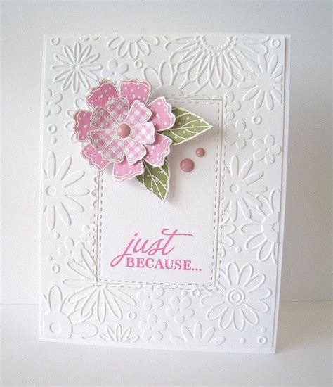 embossing card 353 best cards with embossing folder texture and design