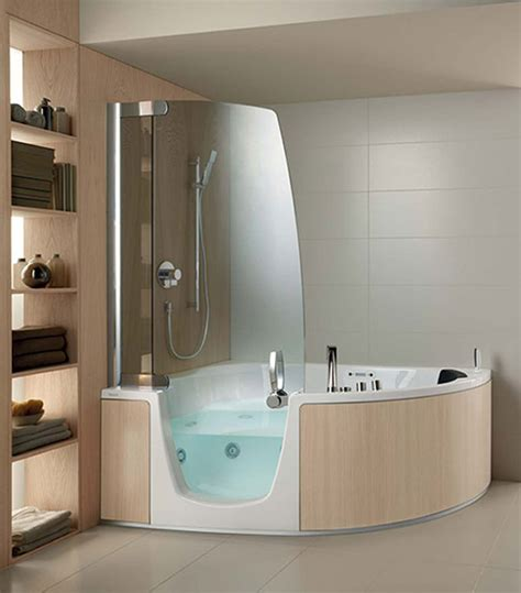 cool showers and baths cool comfort corner whirlpool shower combo by teuco bath