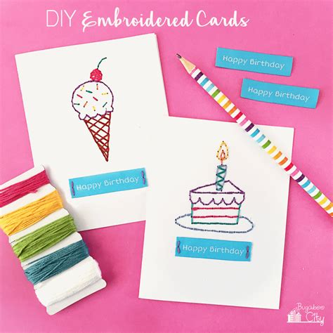 how to make diy birthday cards 13 diy birthday cards that are shelterness