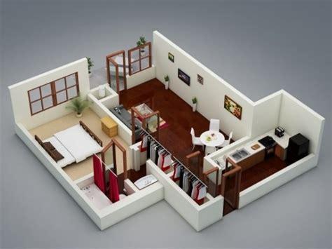 1 bedroom design 1 bedroom apartment house plans