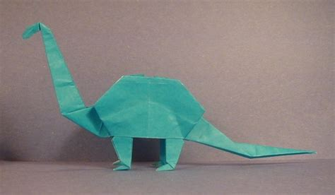 Brontosaurus Animal Origami For The Enthusiast The