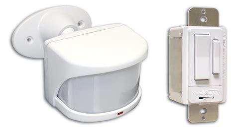 motion lights diy motion detector kit heath zenith sl 6053 outdoor