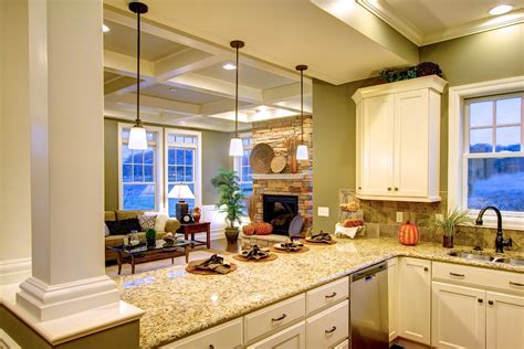 images of model homes interiors interior photos of the cottage and towne model homes venango trails