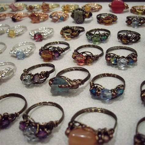 how to make jewelry rings how to make wire wrapped rings with stones