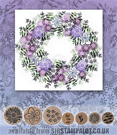 rubber st tapestry uk rubber st tapestry floral filigree wreath set