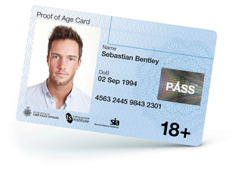 make passbook cards new pass card the national proof of age standards scheme