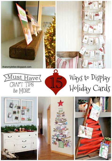 15 Ways To Display Cards Mine For The