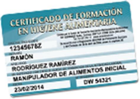 carnet de manipulador de alimentos por internet curso manipuladores de alimentos certificado online desde 5