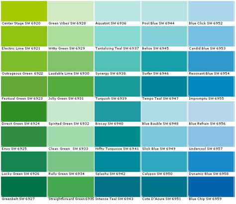 behr paint exterior color chart sherwin williams sw6920 center stage sw6921 electric lime