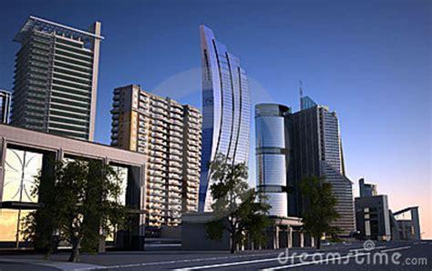 ville moderne photo libre de droits image 16419625