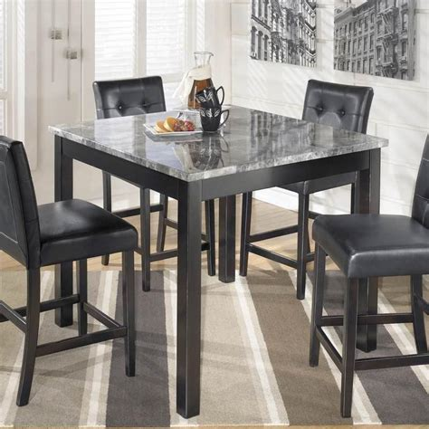 counter height dining table maysville square counter height dining table and stools set