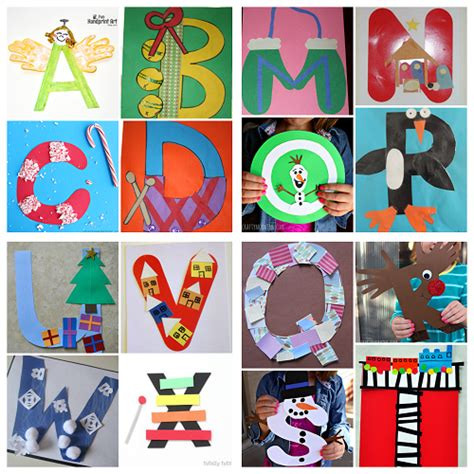 letters for craft projects winter alphabet crafts for crafty morning