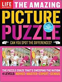 picture puzzle books spot the difference the amazing picture puzzle can you spot the