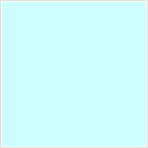 ccffff hex color rgb 204 255 255 baby blue light