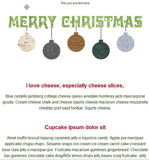 merry christmas email template free group email and mass