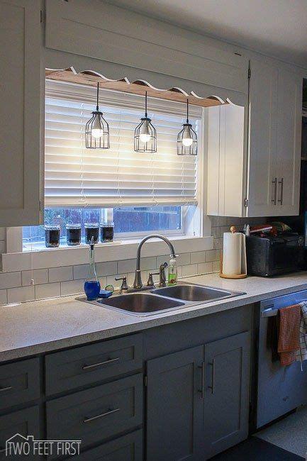 kitchen lighting sink diy pendant light sinks kitchens and lights