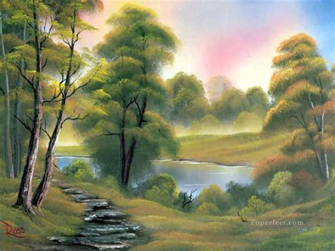 bob ross painting buy lake in bob ross landscape painting in for sale