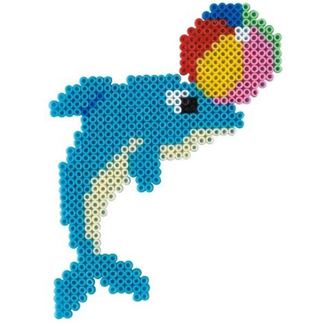 perler dolphin dolphin hama mini perler hama