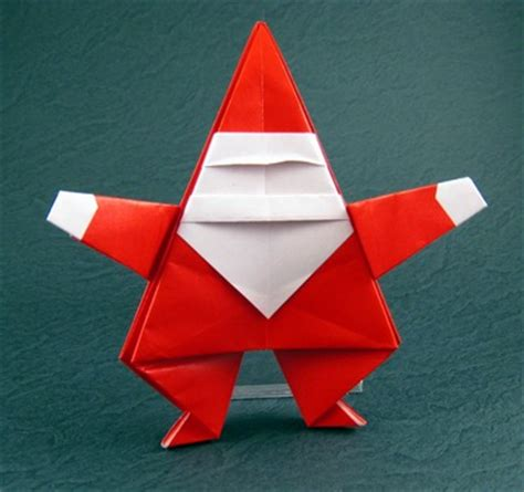 santa origami easy origami by montroll book review