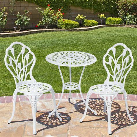 cool home office ideas white aluminum outdoor furniture white cast aluminum patio furniture chicpeastudio