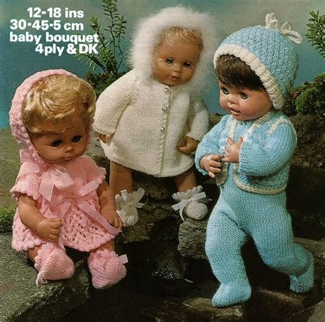 free knitting patterns for tiny babies baby dolls clothes knitting pattern 12 14 16 18 inch