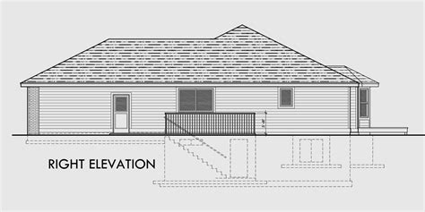 house plans with basement garage ranch house plan 3 car garage basement storage