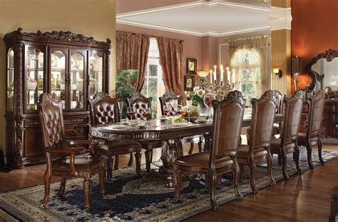 table dining room sets vendome formal dining room table set