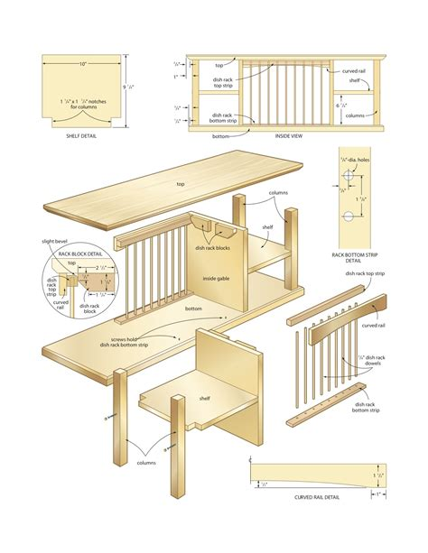 woodworking cl rack plans dish organizer rack woodworking plans woodshop plans