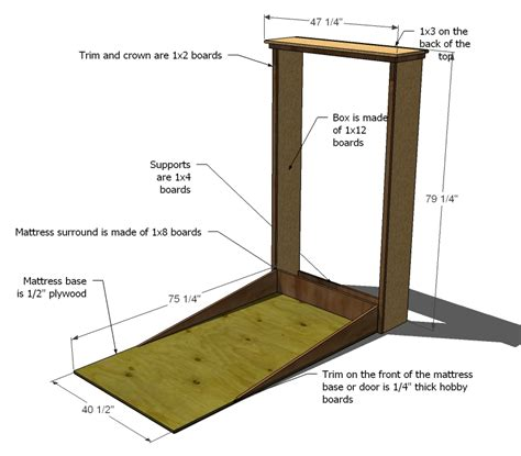 murphy bed woodworking plans murphy bed plans downloadable woodworking plans